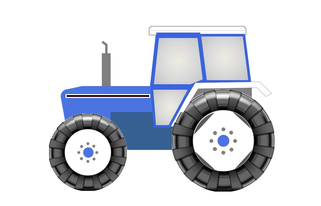 Ford New Holland Tractor